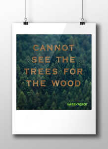 Greenpeace Poster