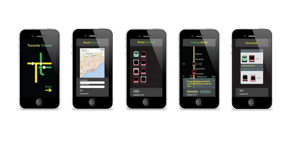 Transit Mobile App Mockup-digital