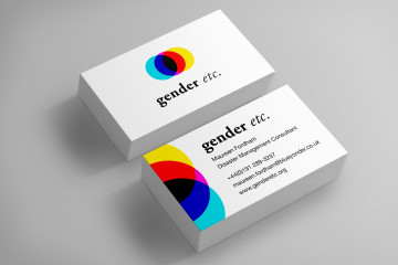 gender etc. RGB business-cards
