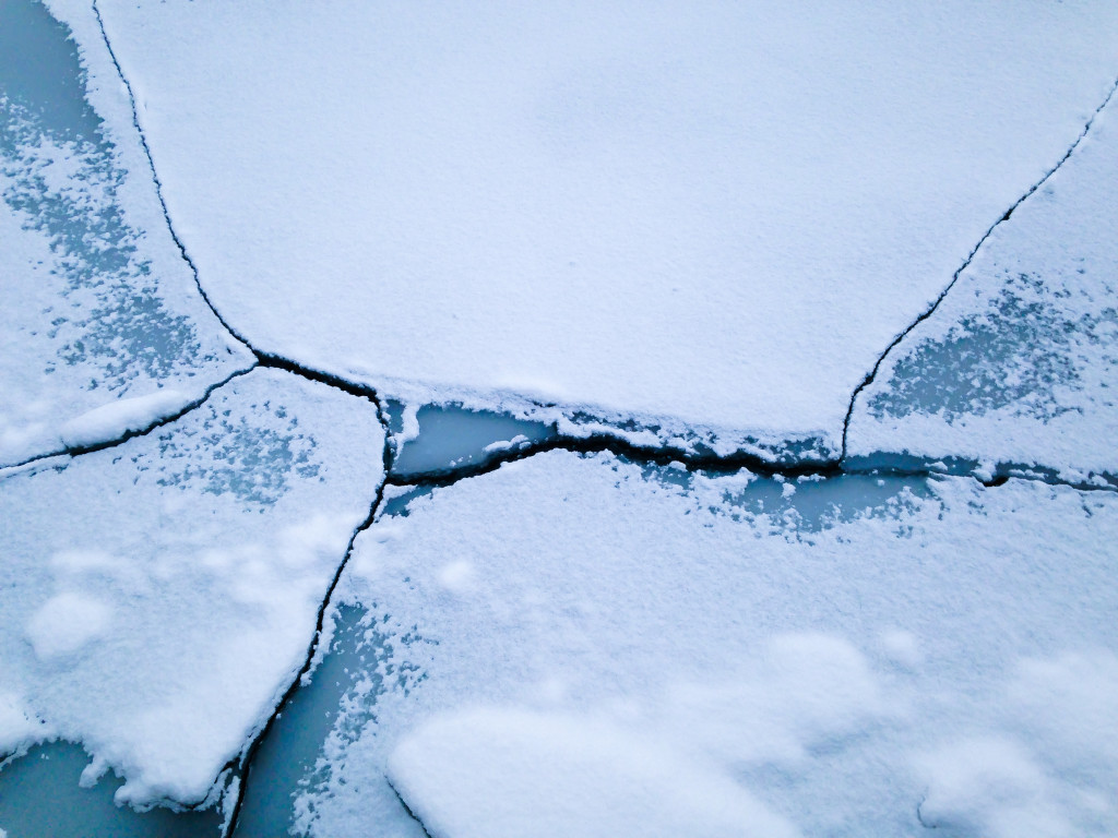 Snow-Covered Ice Floes I