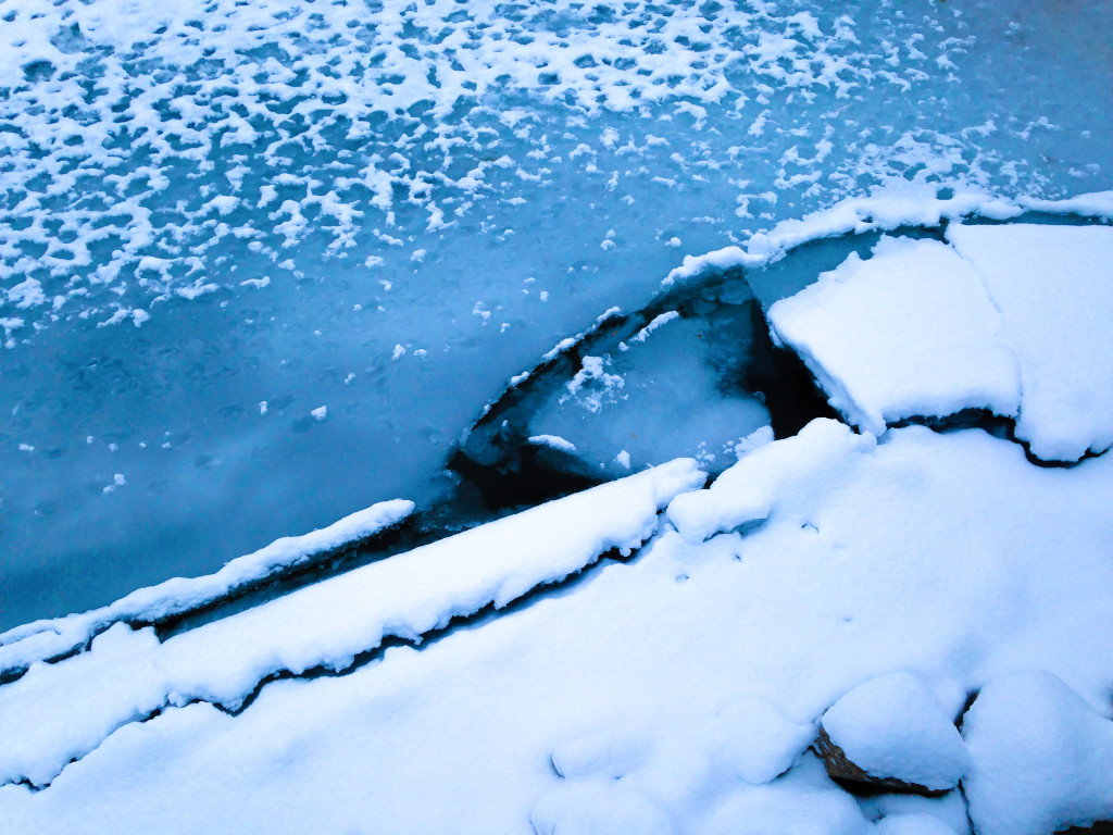 Snow-Covered Ice Floes IV