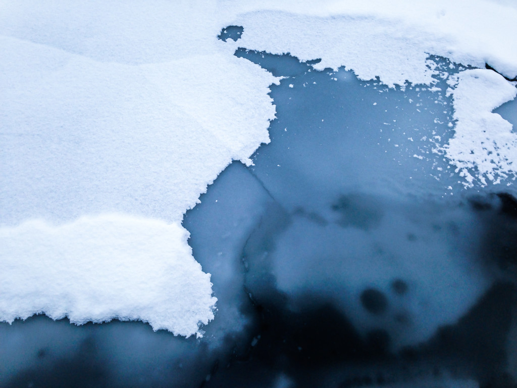 Snow-Covered Ice Floes VI