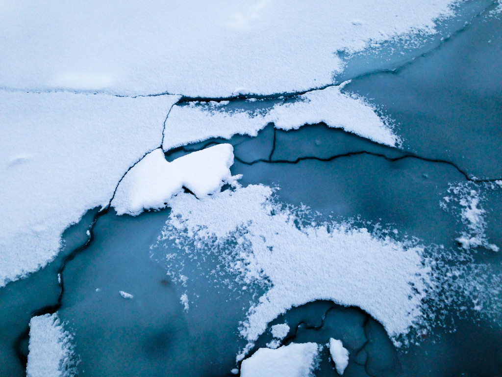 Snow-Covered Ice Floes VII