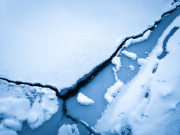 Snow-Covered Ice Floes VIII