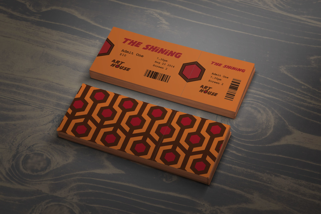 Movie Tickets Mockup